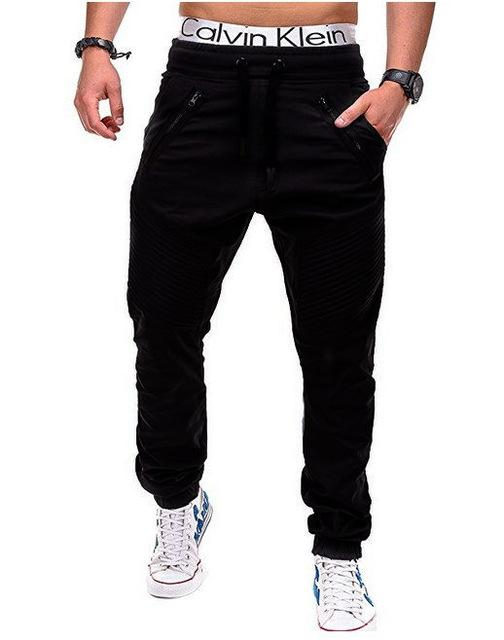West Louis™ Multi Pocket Long Trouser Black / M - West Louis