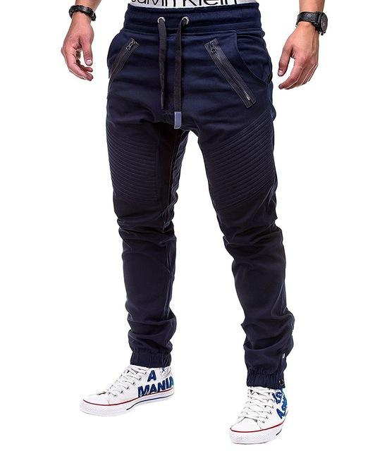 West Louis™ Multi Pocket Long Trouser Navy / M - West Louis