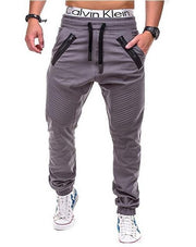 West Louis™ Multi Pocket Long Trouser Gray / M - West Louis