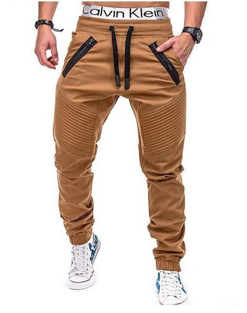 West Louis™ Multi Pocket Long Trouser Khaki / M - West Louis