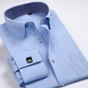 West Louis™ French Cufflinks Shirts Blue2 / S - West Louis