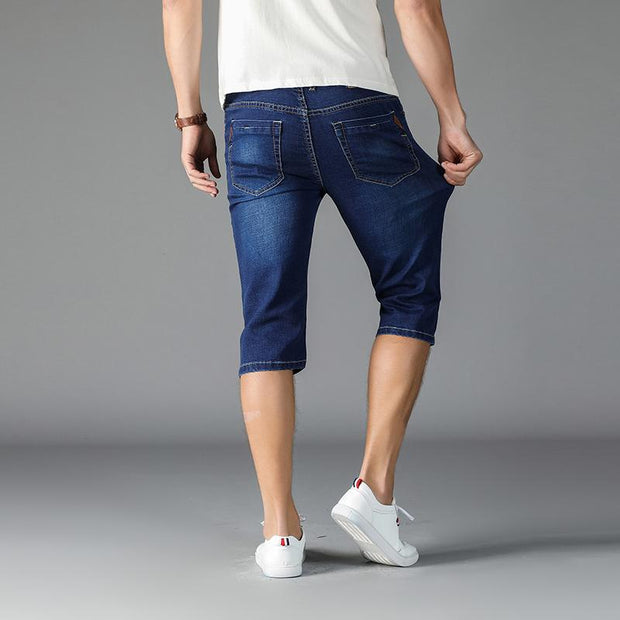West Louis™ High Stretch Casual Shorts  - West Louis