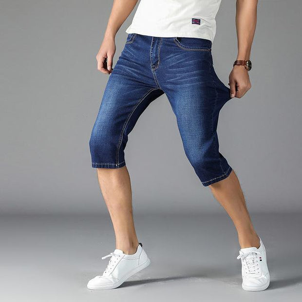 West Louis™ High Stretch Casual Shorts Blue / 28 - West Louis