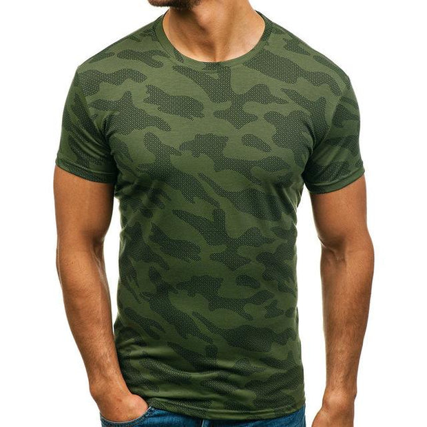West Louis™ Pattern Tee Loose T-Shirts Green / M - West Louis