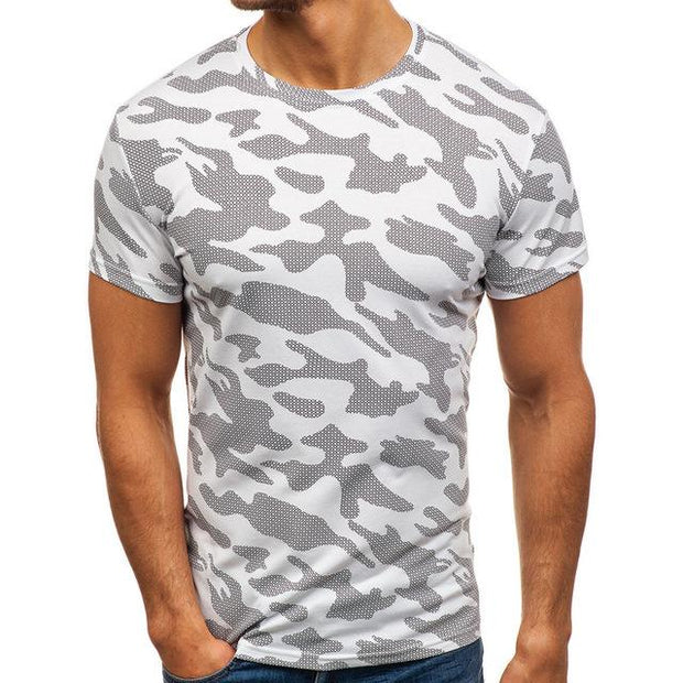 West Louis™ Pattern Tee Loose T-Shirts White / M - West Louis