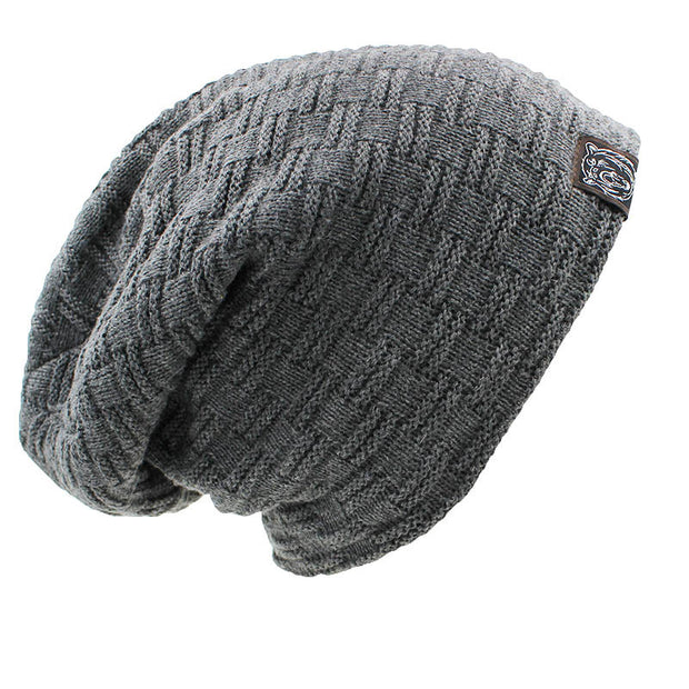 West Louis™ Solid Design Skullies Bonnet Winter Hat