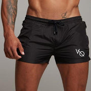 West Louis™ Sporting Bermuda Beach Shorts Black / L - West Louis