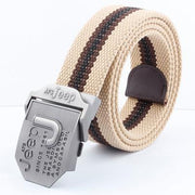 West Louis™ Military Tactical Belt Khaki / 125cm - West Louis