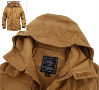 West Louis™ Autumn Tactical Waterproof Windbreaker Coat