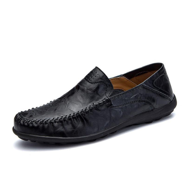 West Louis™ Genuine Leather Comfy Moccasins  - West Louis