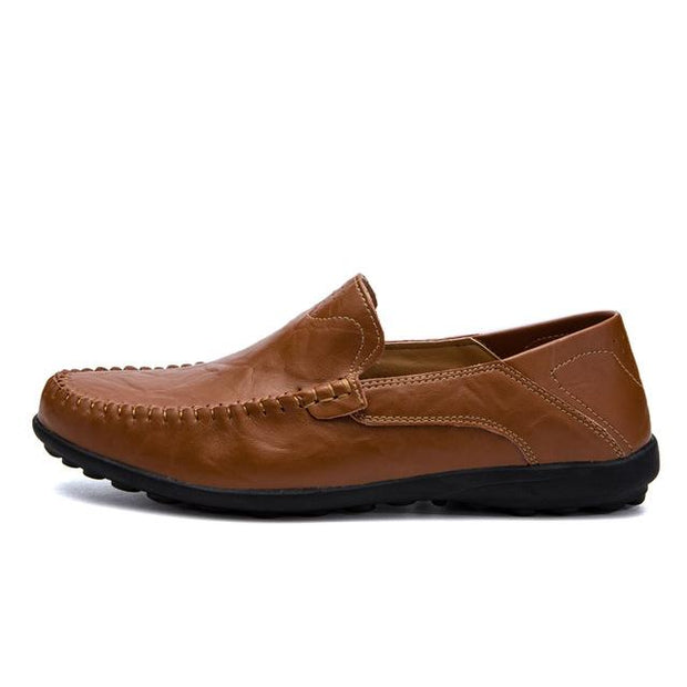West Louis™ Genuine Leather Comfy Moccasins Brown / 11 - West Louis
