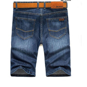 West Louis™ High Quality Cotton Slim Shorts  - West Louis