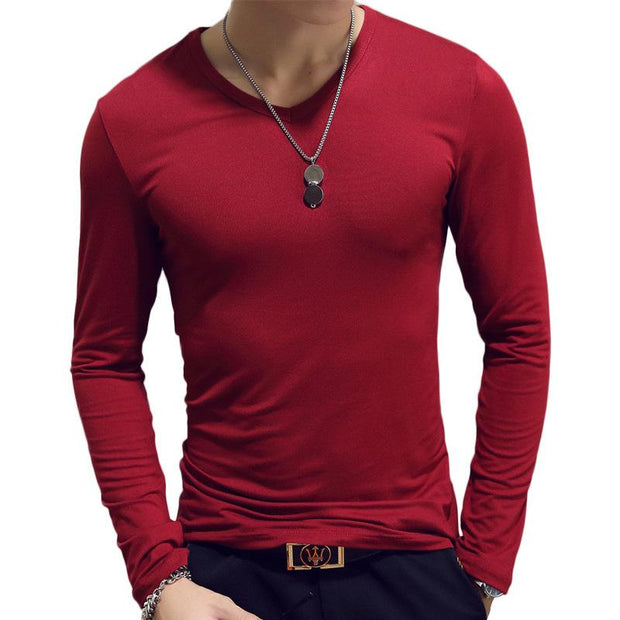 West Louis™ Spring Fashion T-Shirt Red / XL - West Louis
