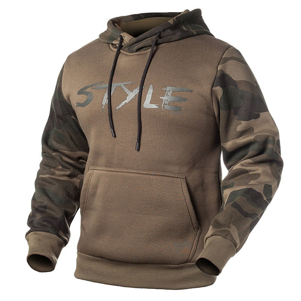 West Louis™ Military Style Fleece Hoodies
