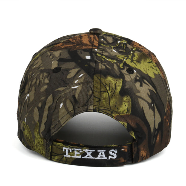 West Louis™ TEXAS  Camouflage Baseball Cap