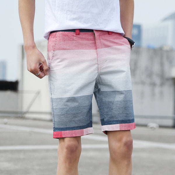 West Louis™ High-end Cotton Splice Shorts
