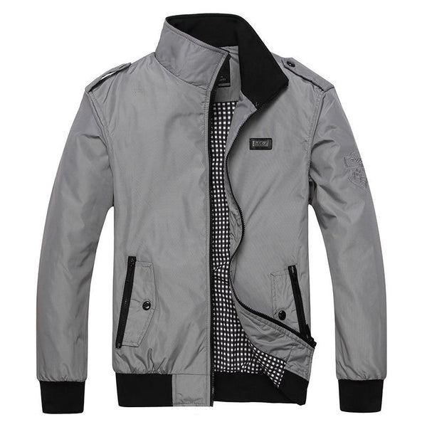 West Louis™ Spring Men Style Bomber Jacket