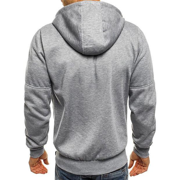 West Louis™ Drawstring Solid Hoodies  - West Louis