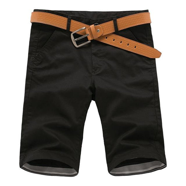 West Louis™ Cotton Bermuda Cargo Short Black / 30 - West Louis
