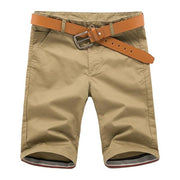 West Louis™ Cotton Bermuda Cargo Short Khaki / 30 - West Louis