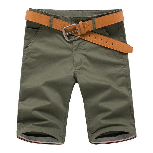 West Louis™ Cotton Bermuda Cargo Short Green / 30 - West Louis