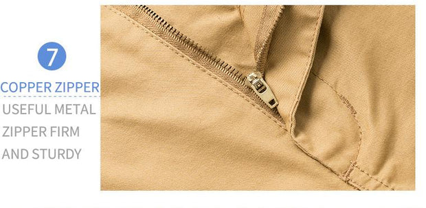 West Louis™ Cotton Bermuda Cargo Short  - West Louis