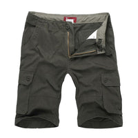 West Louis™ Leisure Summer Cargo Shorts Green / 29 - West Louis