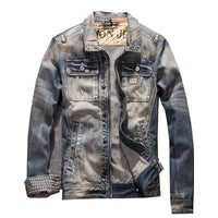 West Louis™ American Trendy Cowboy Jean Jacket