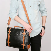 West Louis™ Vintage High Quality Leather Handbag