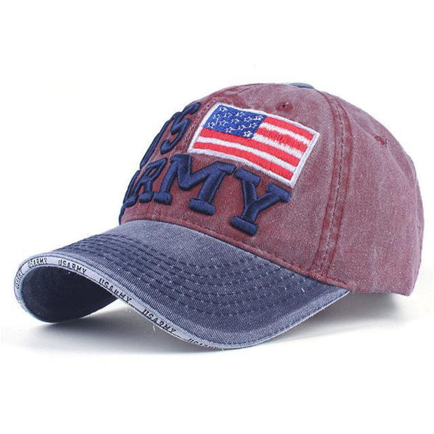 "West Louis™ ""US Army"" Embroidery Baseball Cap"