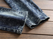 West Louis™ Denim Skinny Slim Jeans  - West Louis
