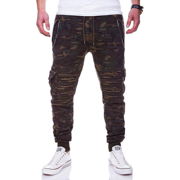 West Louis™ Casual Camouflage Sweatpants Trousers
