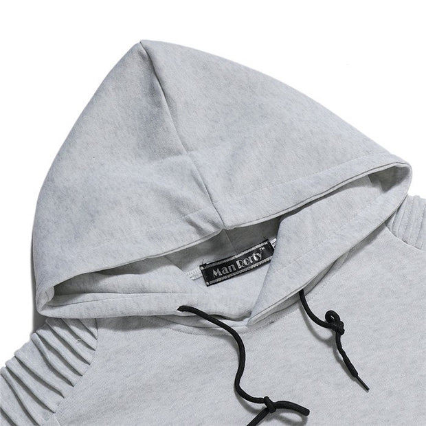 West Louis™ Fashion Stitching Hoodie