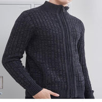 West Louis™ Classic Business Zipper Sweater