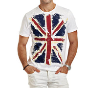 West Louis™ Hot England Style Slim Fit T-Shirts  - West Louis