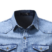 West Louis™ Stylish Denim Shirt