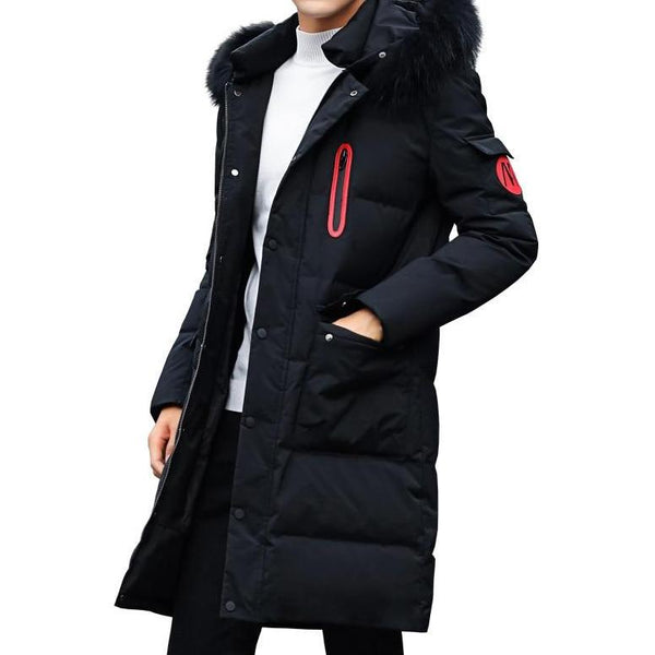 West Louis™ Winter Cotton Thick Quality Long Coat
