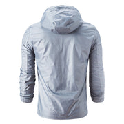 West Louis™ Style Loose Raincoat Windbreaker