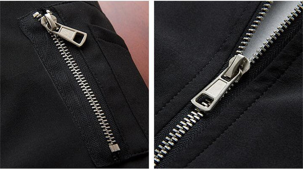 West Louis™ Style Zipper On Pocket Pilot Jacket