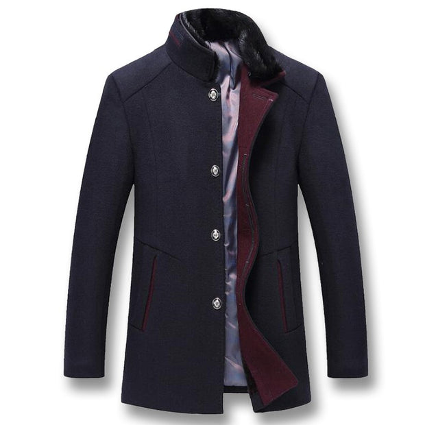West Louis™ Business-Man Wool Coat