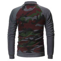 West Louis™ Autumn Style Camo Sweatshirt