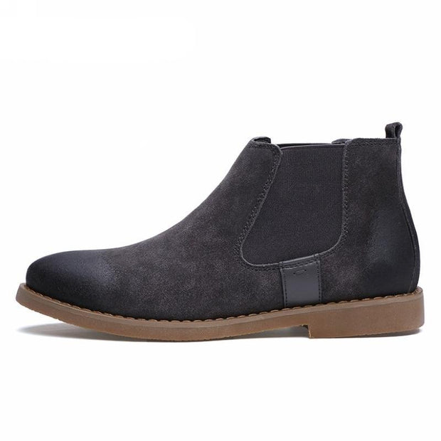 West Louis™ Chelsea Fashion Suede Leather Boots