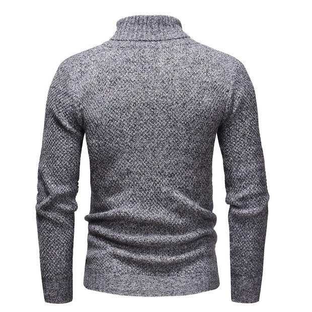 West Louis™ Knitt Hedging Turtleneck Sweater