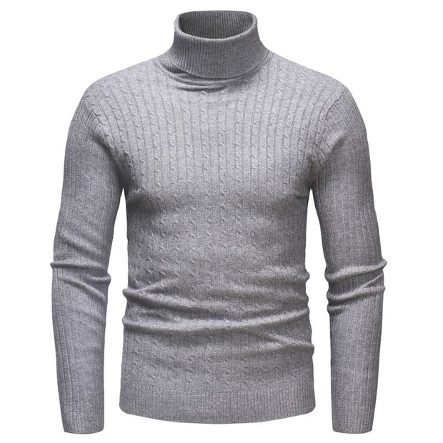 West Louis™ Knitted Turtleneck Pullover