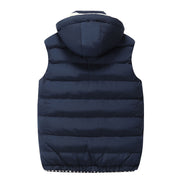 West Louis™ Cotton-Padded Sleeveless Jacket