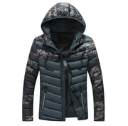 West Louis™ Camouflage Warm Hooded Parka