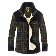 West Louis™ Plaid Cotton Admiral Jacket