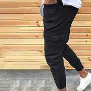 West Louis™ Urban Style Leg Ankle Banded Pants