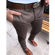 West Louis™ Formal Fit Flat-Front Skinny Dress Pants