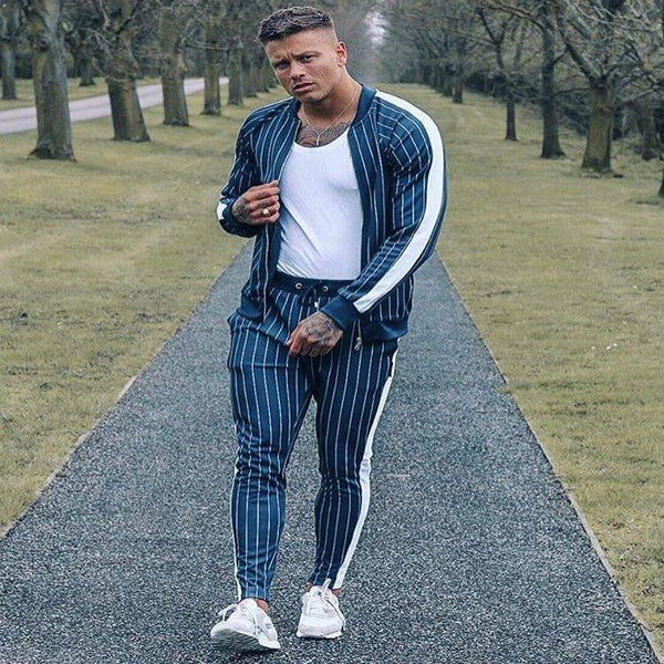 West Louis™ Spring Fashion High Street Tracksuit